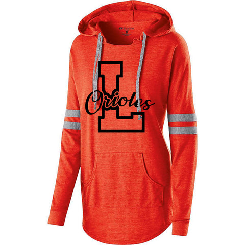 Lennox Orioles Holloway Ladies Low-Key Hooded Pullover