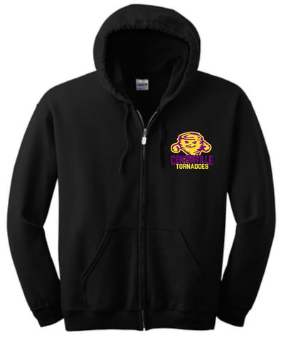 Team Spirit Zip Up Hoodie