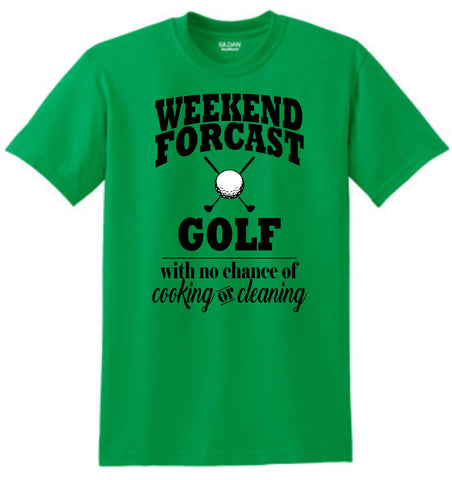 Weekend Forcast of Golf Shirt