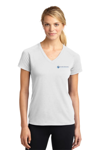 PMHHS Sport-Tek Ladies Ultimate Performance V-Neck Tee