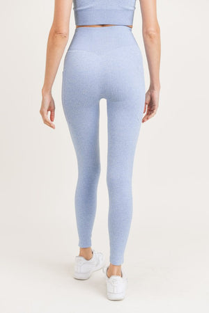 Seamless side pocket leggings