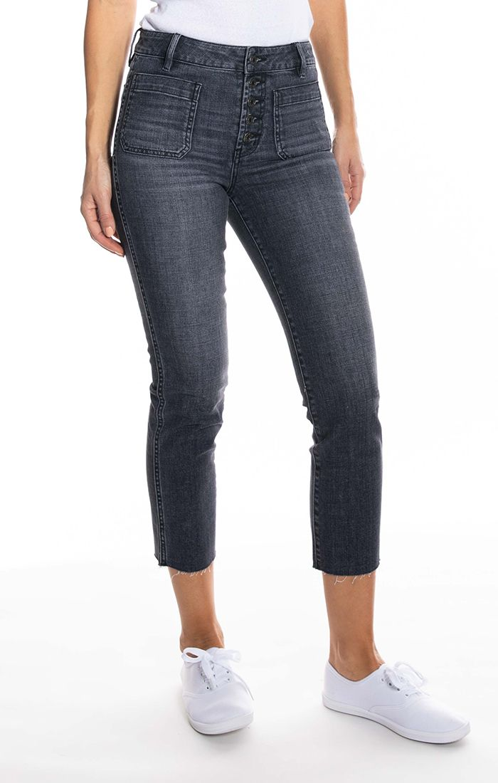 Mariner high rise straight jean