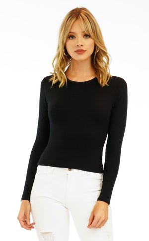Veronica M jersey cropped/under shirt