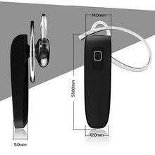 Bluetooth headset / handsfree (compatible with iPhone, Samsung etc.) - The Daily Splurge