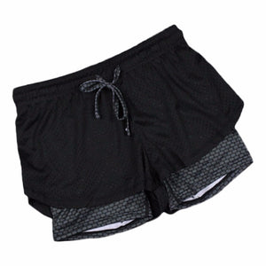 Womens 2 in 1 Running Shorts and Tights (multiple colors) - The Daily Splurge