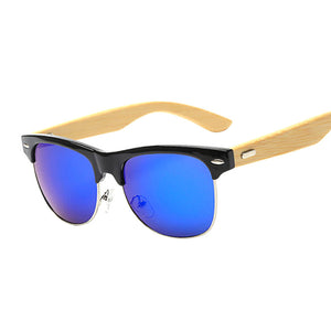 Unisex Vintage Half Frame Sunglasses (Anti-reflective coating, UV 400 protection) - The Daily Splurge