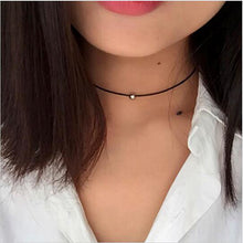 Charm Black Velvet Lace Daisy strip Multi layers pendant Choker Necklace - The Daily Splurge