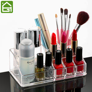 Beauty Acrylic Makeup Organizer Box Clear-Size M - The Daily Splurge