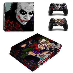 Skin Sticker For Sony Playstation 4 Pro Console & 2PCS Controller Skin Decal For PS4 Pro Game Accessories - The Daily Splurge