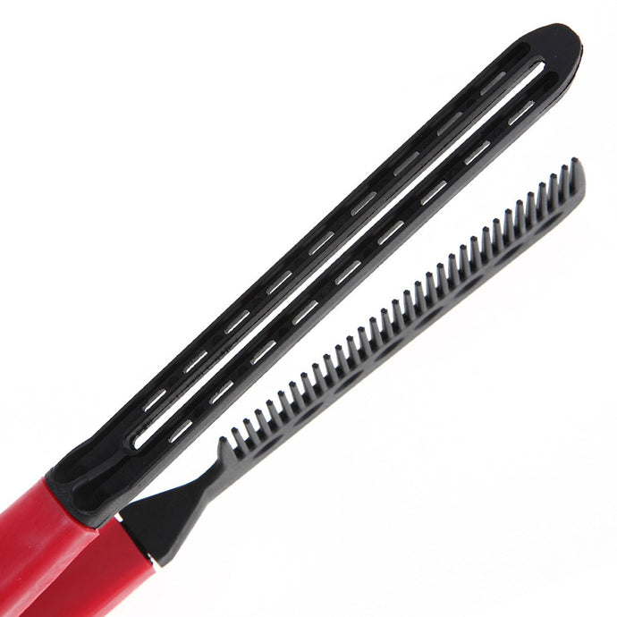 Folding Comb Hair Straightener - The Daily Splurge