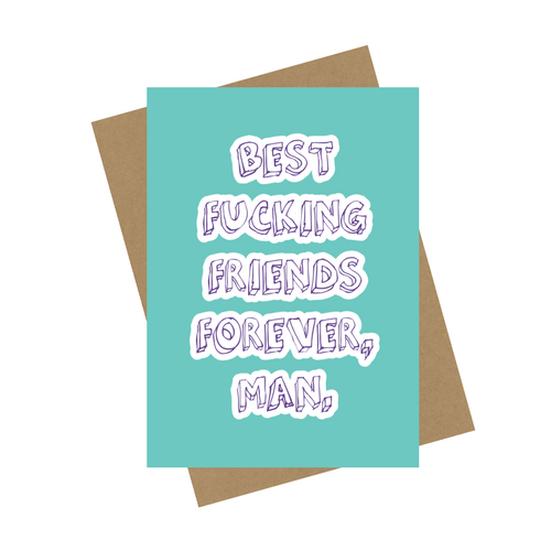 BFFF GREETING CARD
