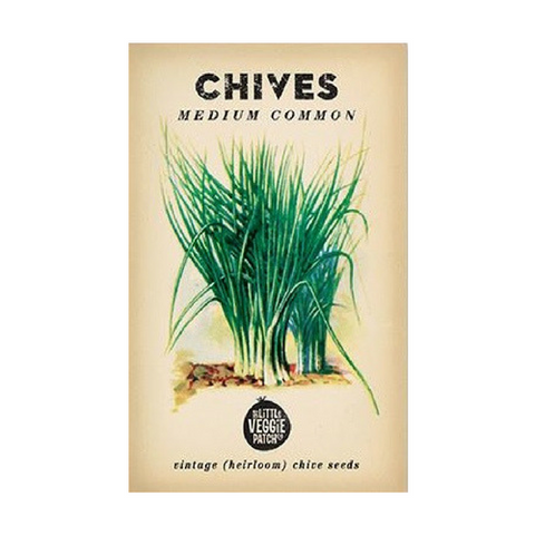 CHIVES HEIRLOOM SEEDS