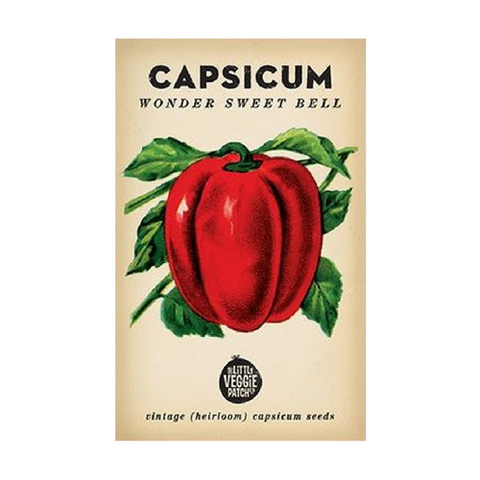 CAPSICUM HEIRLOOM SEEDS