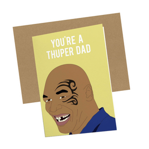 THUPER DAD CARD
