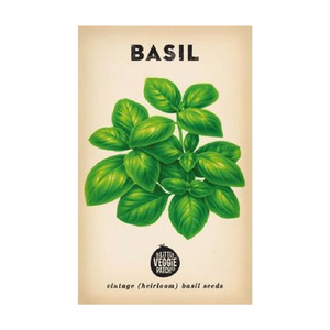 BASIL HEIRLOOM SEEDS