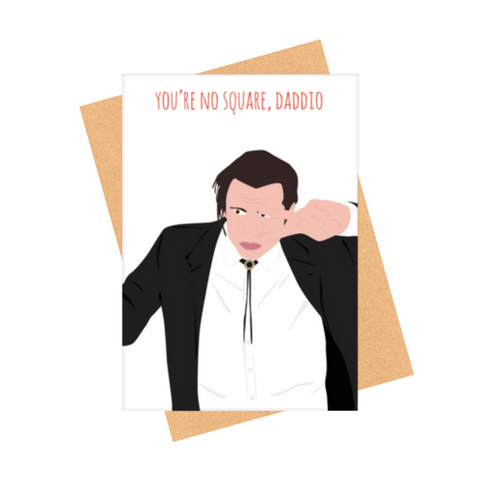 DADDIO GREETING CARD