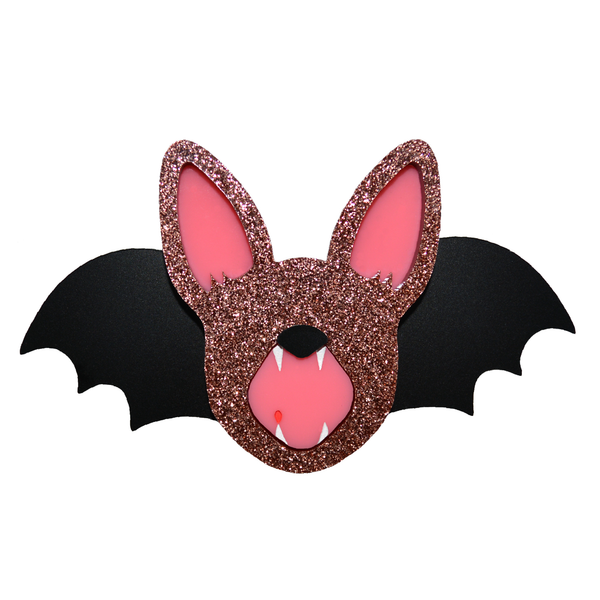 FRUIT BAT BROOCH