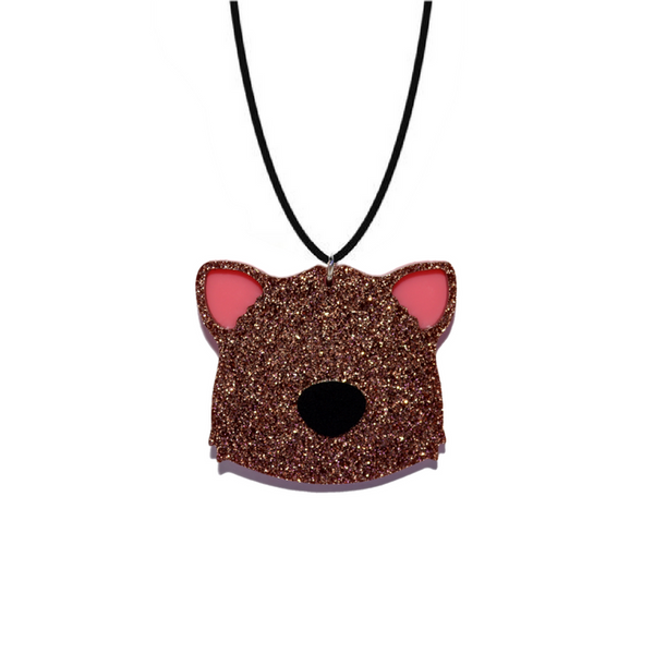 BIG WOMBAT NECKLACE - Oh My Gum Designs