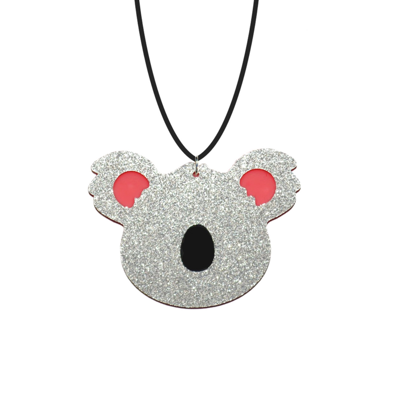 BIG KOALA NECKLACE - Oh My Gum Designs