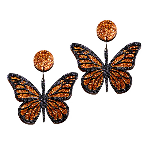 NEW! MONARCH BUTTERFLY - Oh My Gum Designs