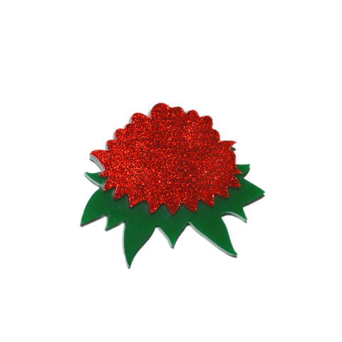 NEW! BIG WARATAH BROOCH