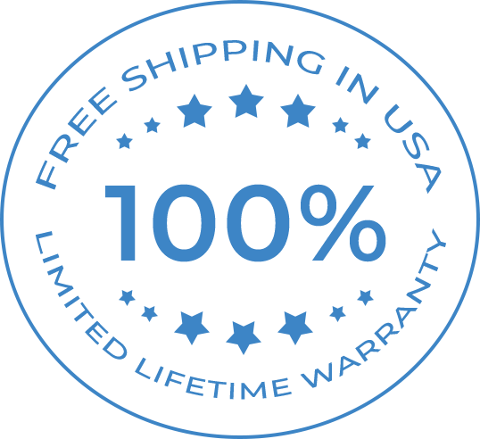 Free Shipping and Lifetime Warranty