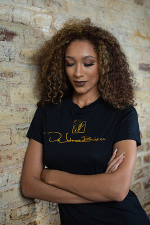 DB Signature Black T-Shirt