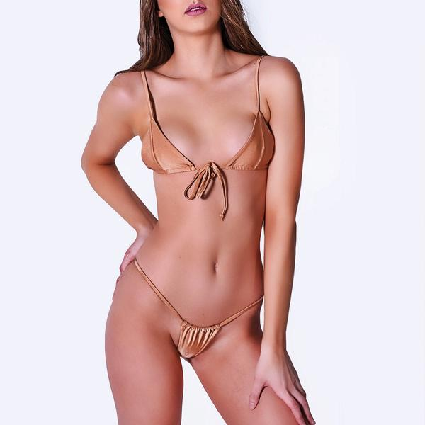 Ava Micro Bottoms Bronze