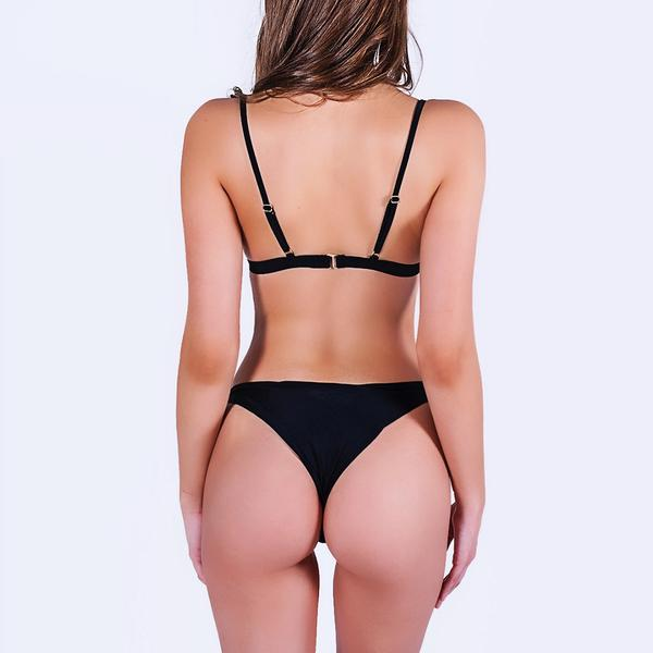 Mila Bottoms Midnight Black