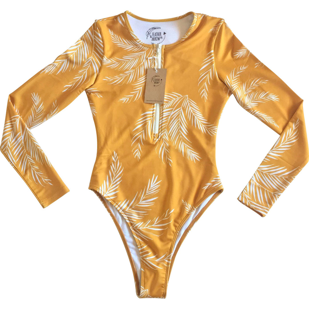 Mustard Summer Surfsuit