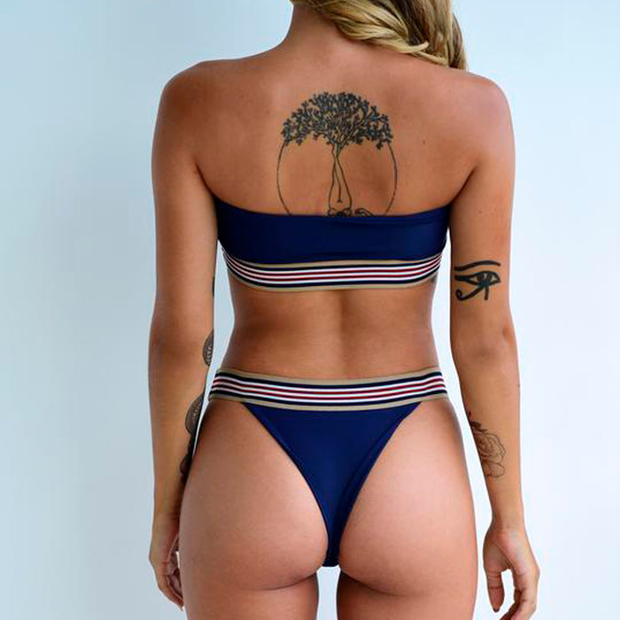 Santorini Bottom / Indigo