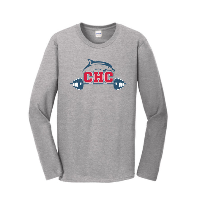 Perfect Triblend Long Sleeve Tee / Grey Fost / Cape Henry Strength & Conditioning