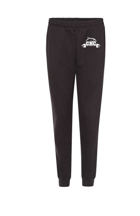 Sport Athletic Fleece Joggers / Black / Cape Henry Strength & Conditioning