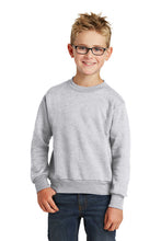 Fleece Crew Neck Sweatshirt / Ash Gray / Kempsville Field Hockey - Fidgety