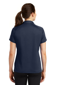 Nike Ladies Dri-FIT Pebble Texture Polo / Navy / FC Field Hockey - Fidgety