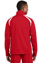 Tricot Warm Up Jacket / True Red & White / Cape Henry Soccer - Fidgety