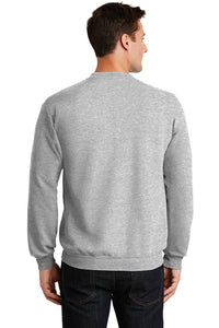 Lions Wrestling Fleece Crewneck Sweatshirt / Athletic Heather / Larkspur Wrestling - Fidgety