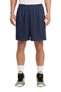 Classic Mesh Basketball Shorts (Youth & Adult) / Navy / Lynnhaven Middle Wrestling