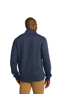 Slub Fleece 1/4-Zip Pullover / Navy / Princess Anne High School Soccer