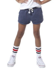 Youth Rally Shorts / Navy / Saints Crew - Fidgety