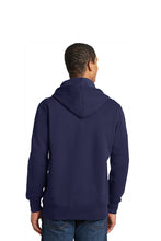 Lace Up Pullover Hooded Sweatshirt / Navy / PA Volleyball - Fidgety