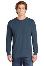 Comfort Colors Heavyweight Ring Spun Long Sleeve Tee / Blue Jean / StoneBridge Baseball