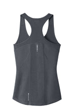 OGIO® Endurance Ladies Racerback Pulse Tank/ Gray / Tridents - Fidgety