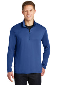 PosiCharge Competitor 1/4-Zip Pullover / Royal / Plaza AVID - Fidgety