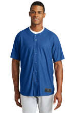 Diamond Era Full-Button Jersey / Royal / Tidewater Drillers - Fidgety