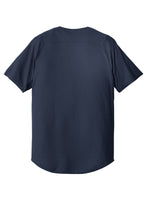 Full-Button Baseball Game Jersey (Youth & Adult) / Navy / StoneBridge Baseball
