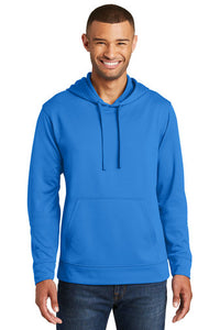 Performance Hooded Sweatshirt / Royal / IR Wrestling - Fidgety