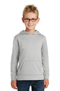 Performance Fleece Hooded Sweatshirt (Youth & Adult) / Silver / Broad Bay Swim - Fidgety