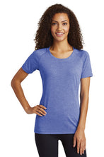 Tri-Blend Scoop Neck T-shirt / Light Blue / Plaza Field Hockey - Fidgety