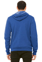 Sponge Fleece Full-Zip Hoodie / Heather Blue / FC Girls Tennis - Fidgety